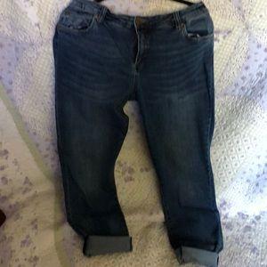 Kut from kloth boyfriend jeans 16w